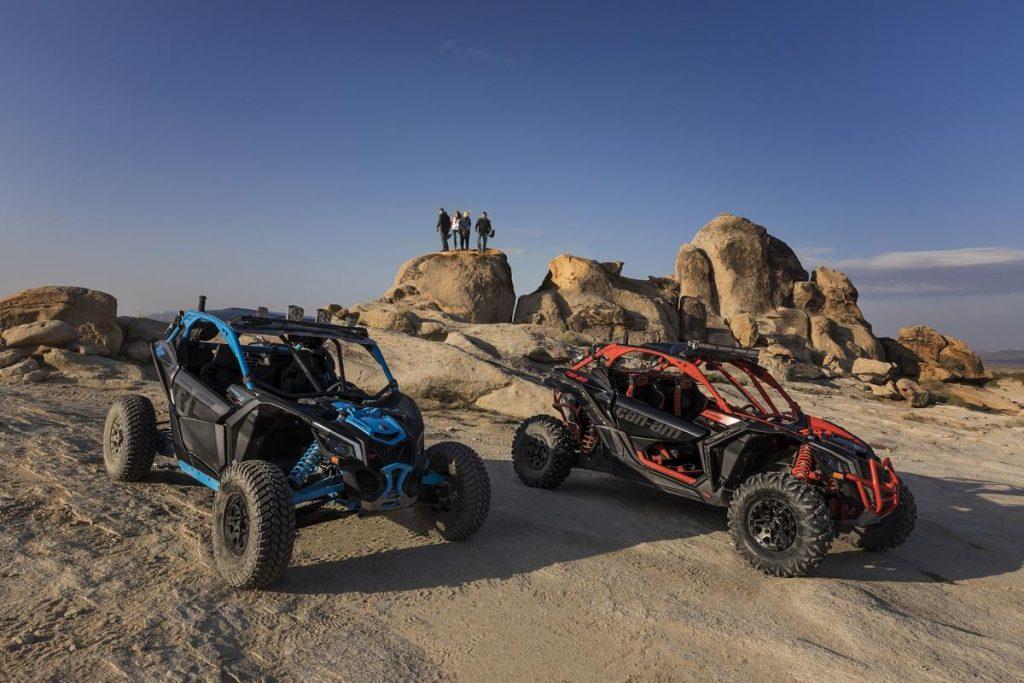 BRP lance 5 nouveaux véhicules basés sur sa plateforme Maverick X3