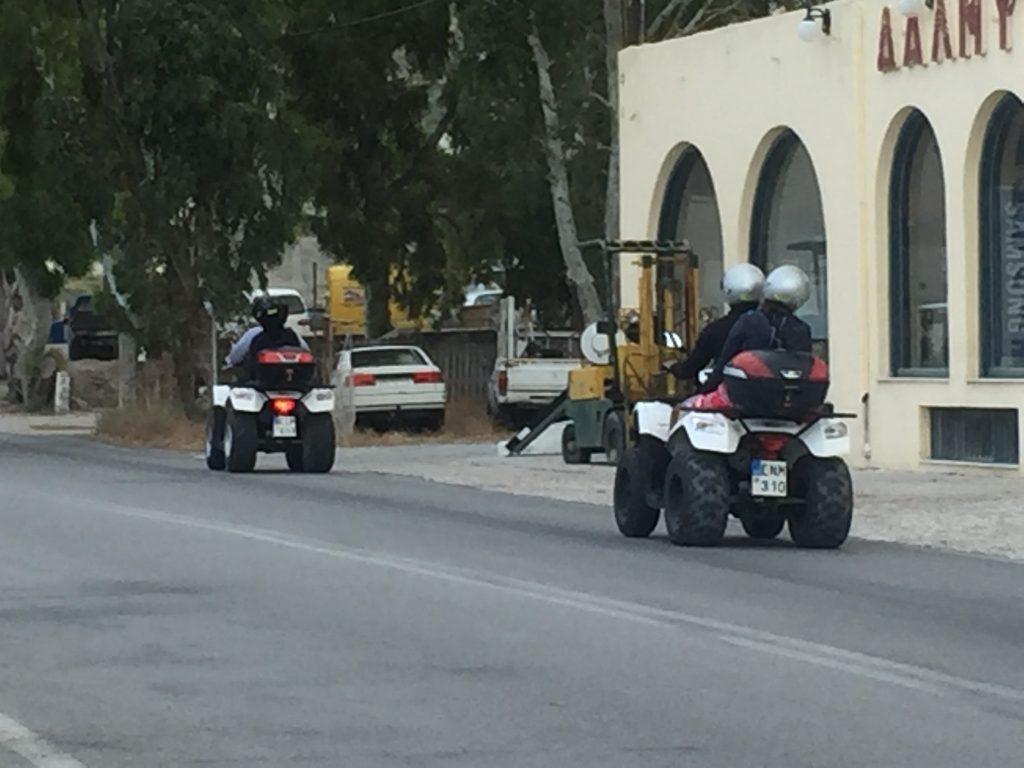 Une aventure en quad en Grèce