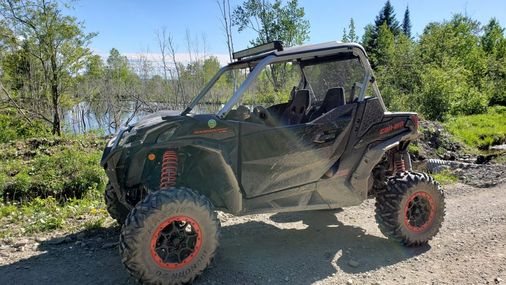 Can-Am Maverick Sport X XC 2020 – Premier contact de Denis