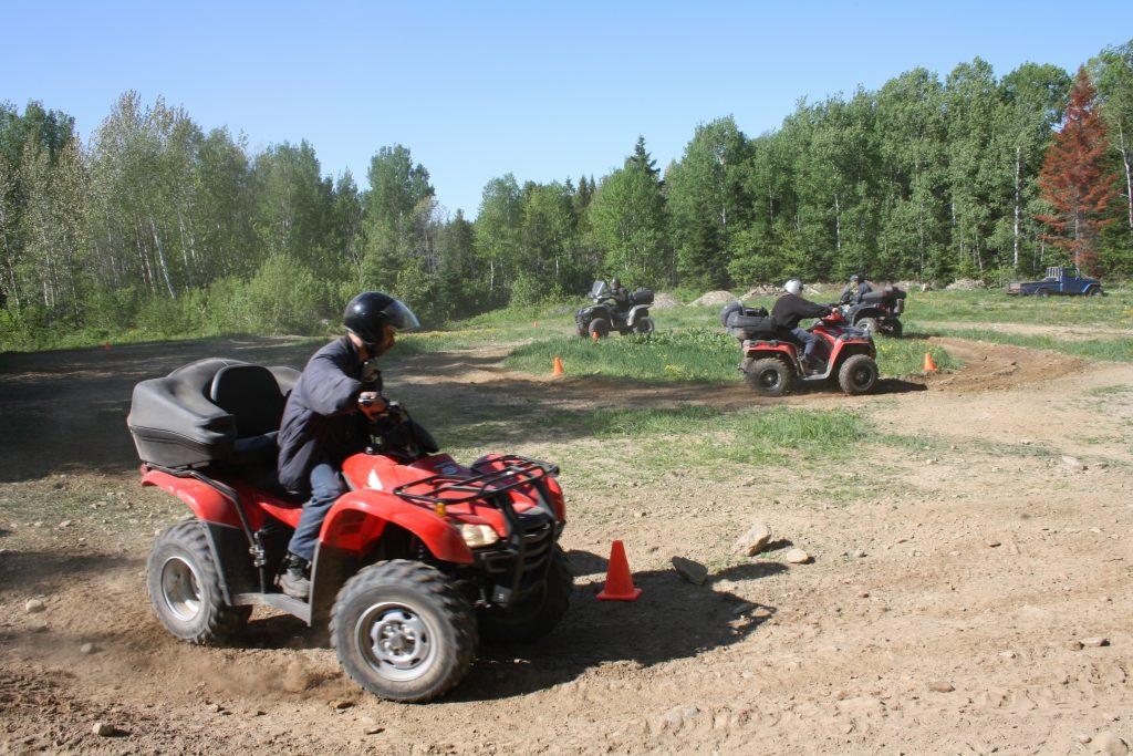 Prochains cours de conduite d'une motoquad (Mont-Joli, Matane, Cap-Chat)