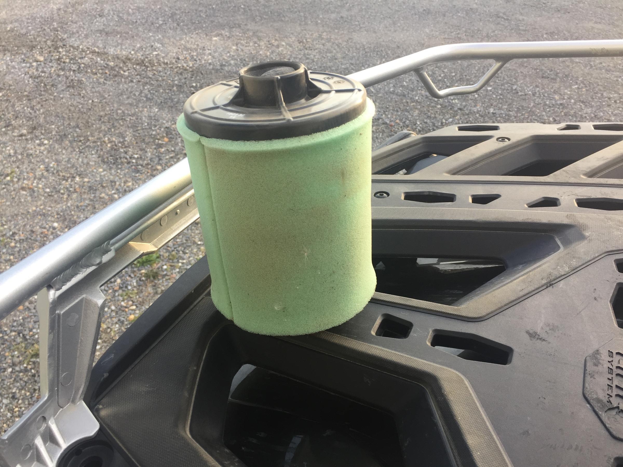 Pourquoi nettoyer ou changer le filtre à air de son quad?