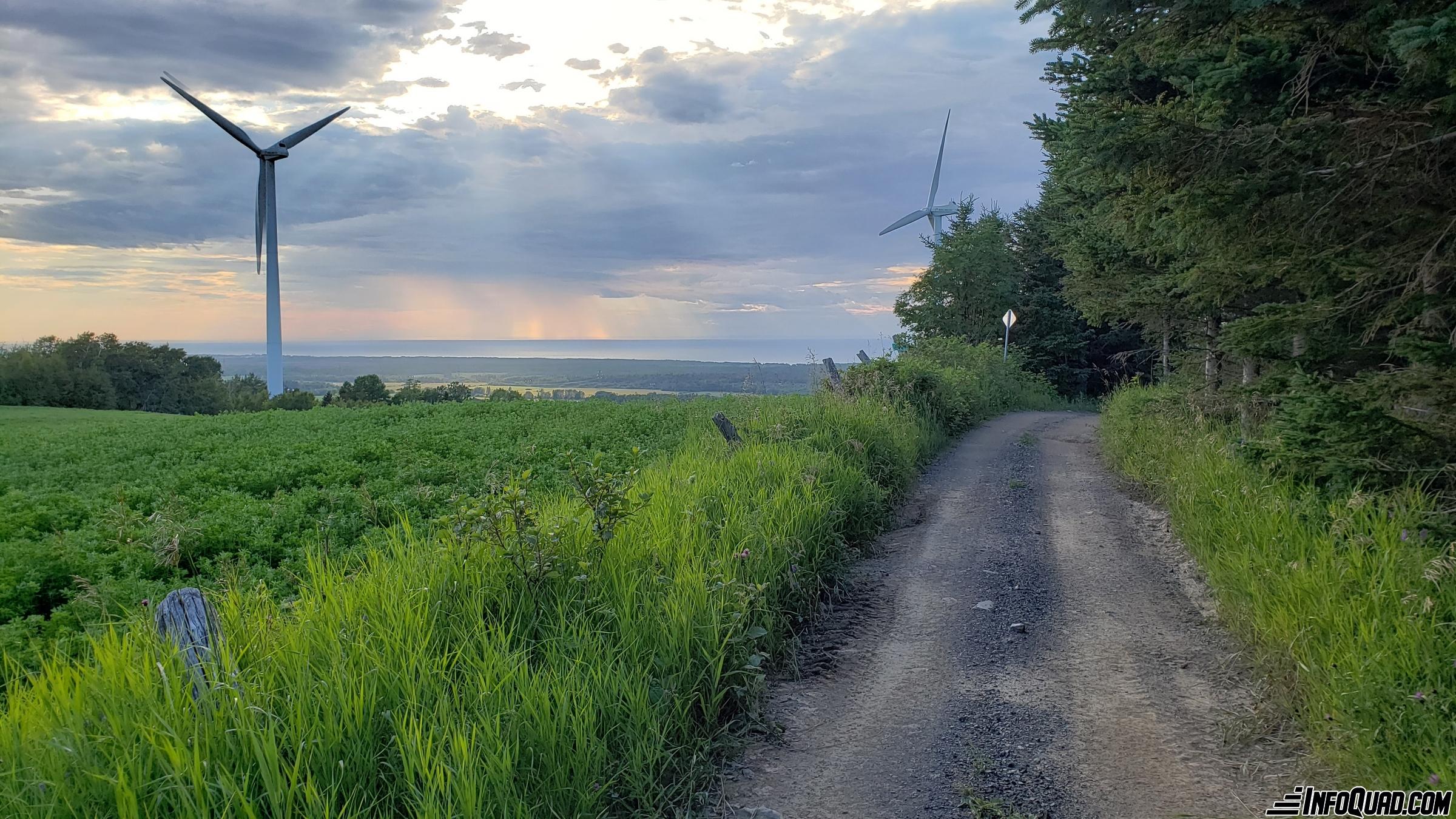 Sentiers de quad près de Matane