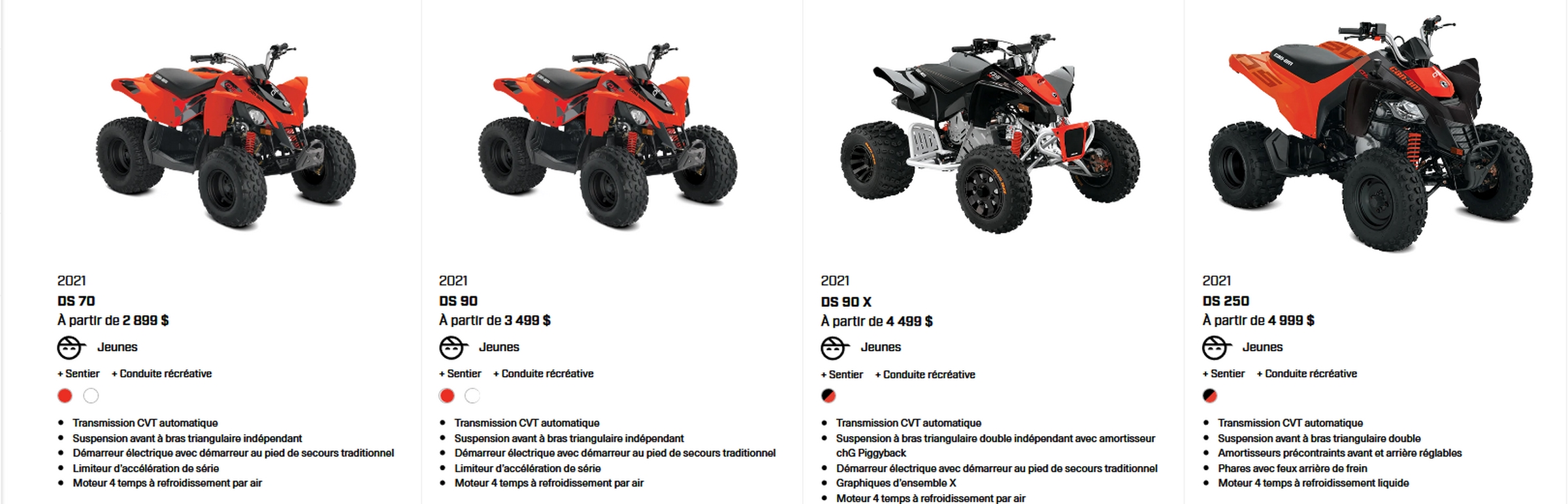 Can-Am DS 2021