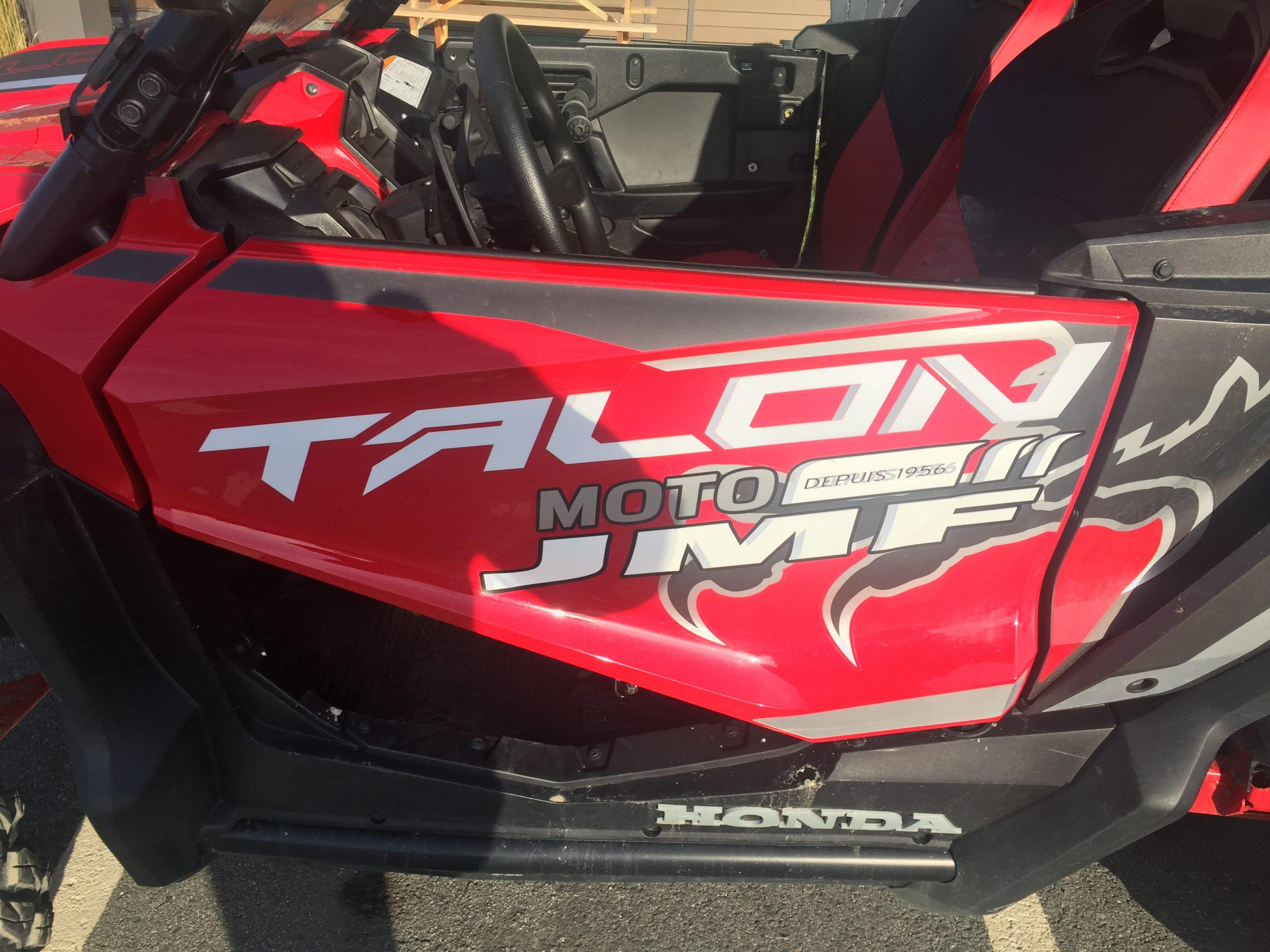 Essai Honda Talon