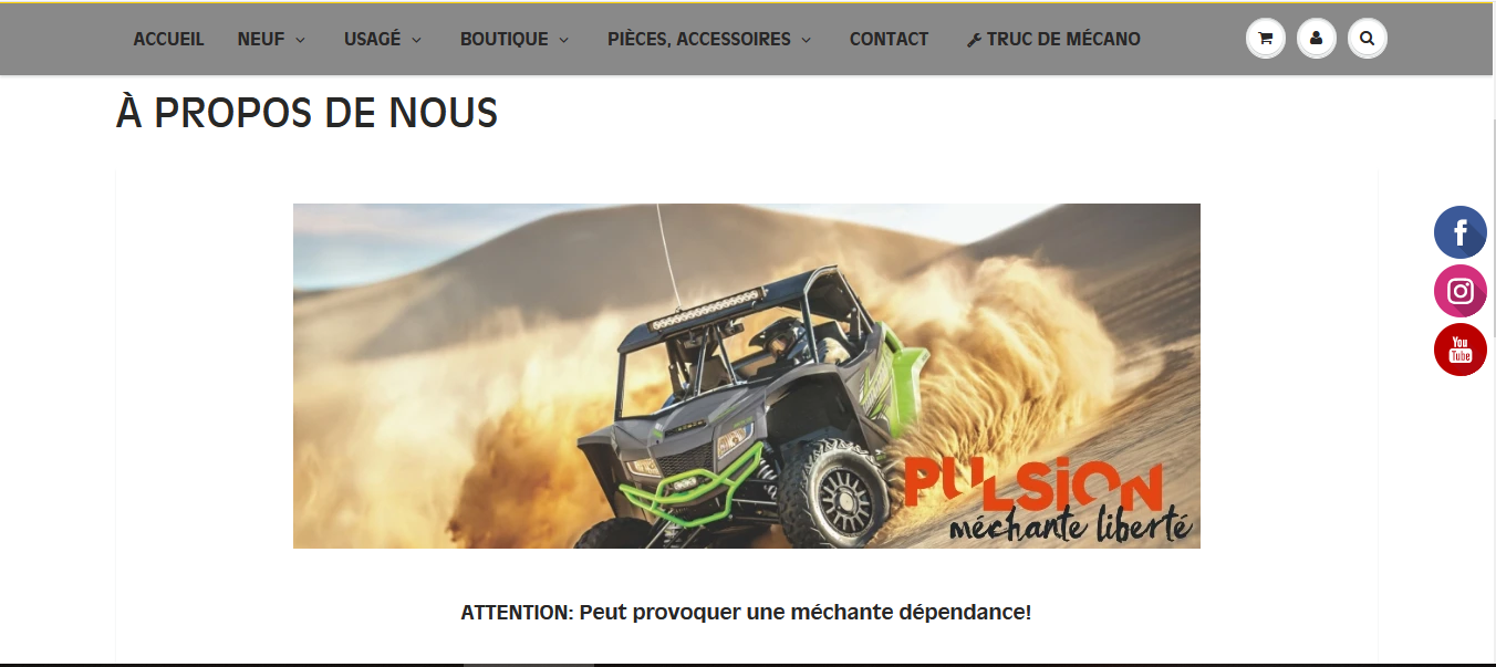 Pulsion Sports Motorisés
