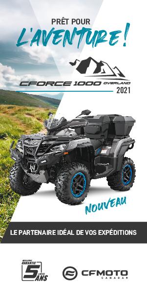 CFMOTO CForce 600 EPS Touring 2021