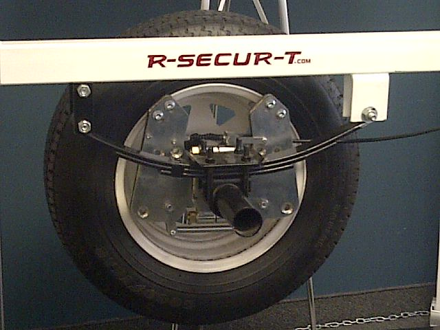 Le système de freinage pour remorque R-Secur-T - Quelle découverte!