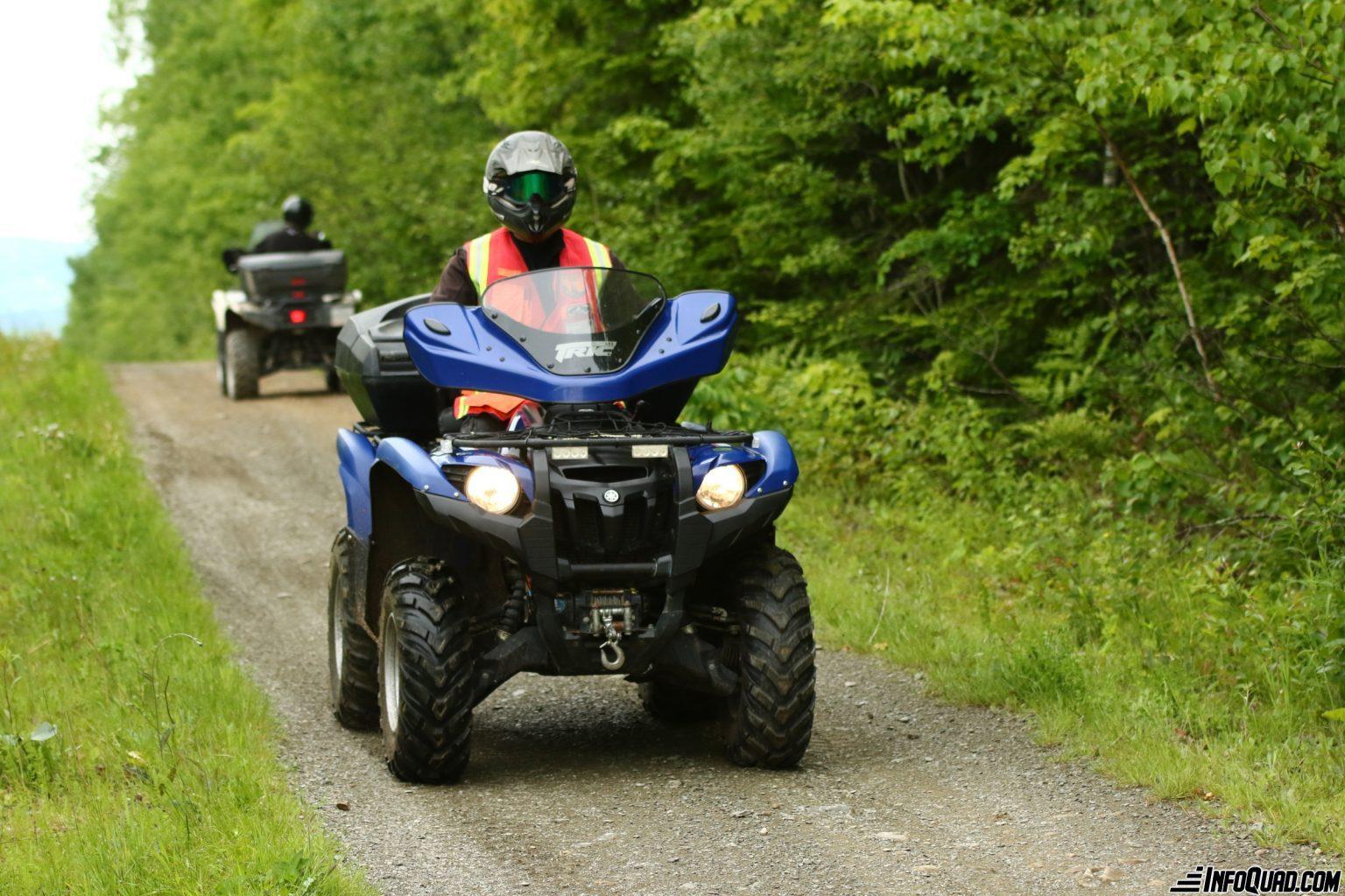 Ouverture des sentiers de quad : Assez c'est assez||||||Non