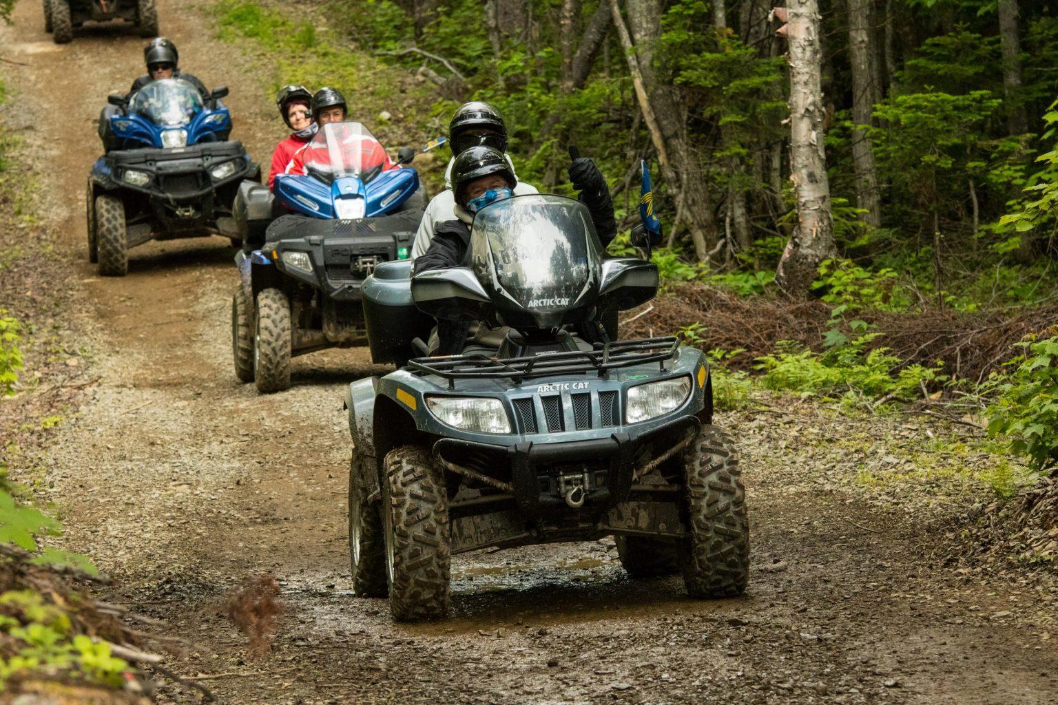 Ouverture des sentiers de quad au Québec