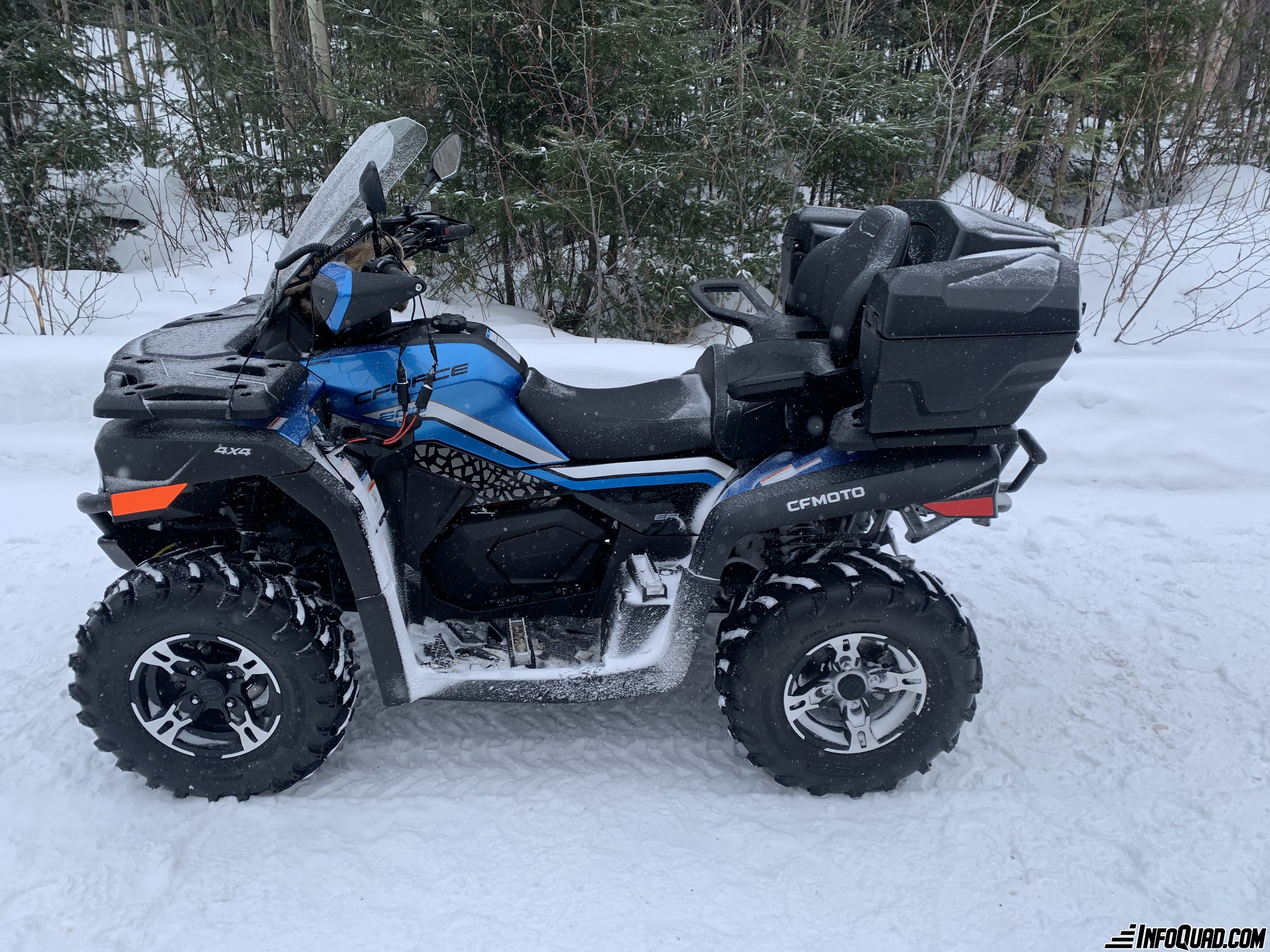 The 2021 Kawasaki Brute Force 750 - a great value