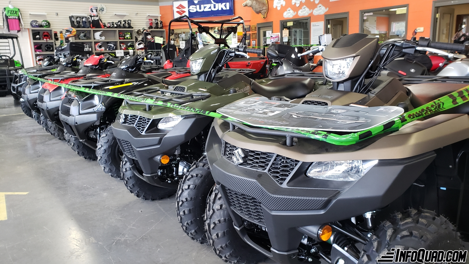 Scarcity of quads for sale