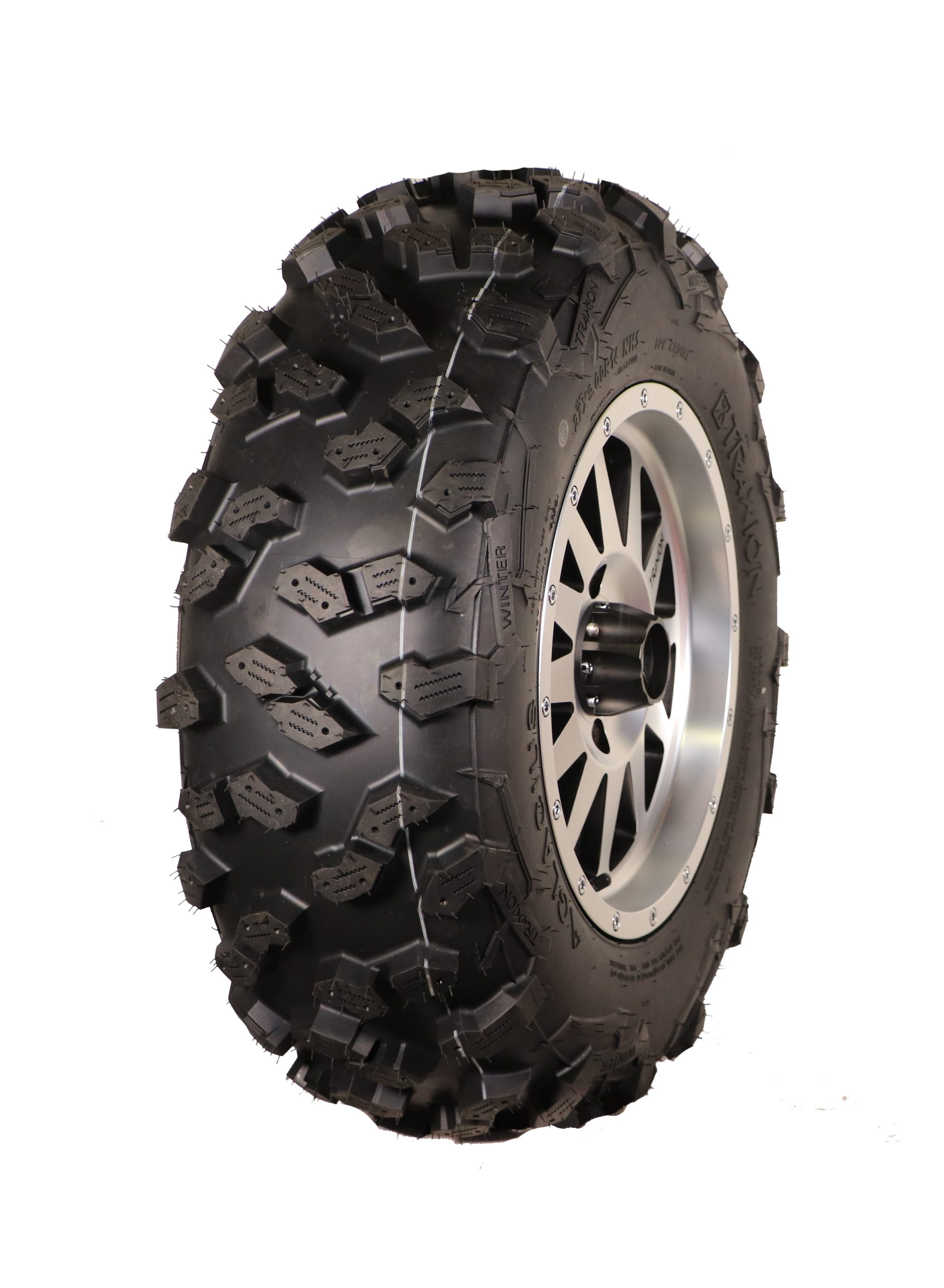 The right tires for the winter quad : Glacius Traxion offroad